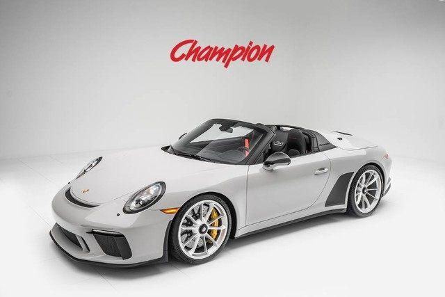2019 Porsche 911 Speedster picture #1