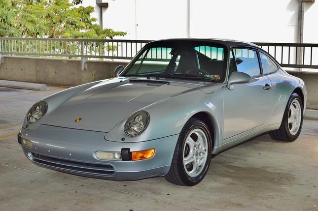 1995 porsche 911 coupe 993 1 owner 16 000 miles