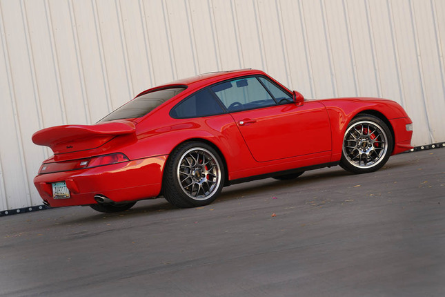 1995 993 coupe modified twin turbo
