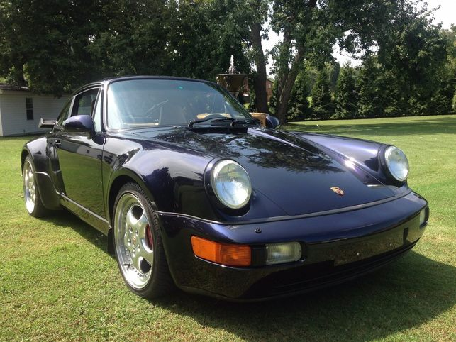 1994 964 turbo 3 6 1