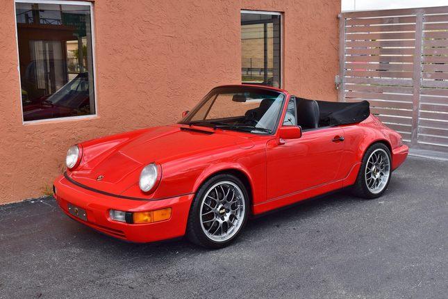 1991 porsche 911 cabriolet 964 c2