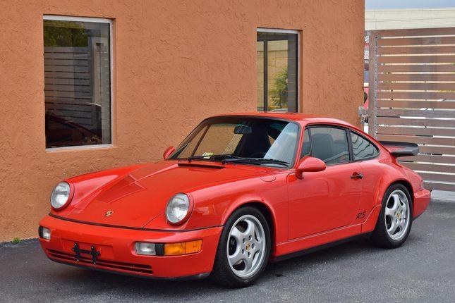1993 porsche 911 rs america 1 owner original window sticker