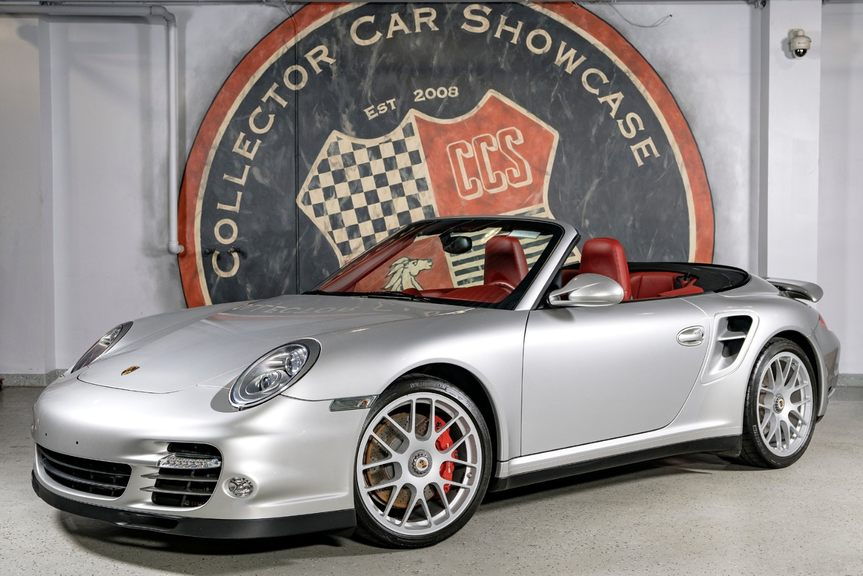 2010 Porsche 911 Turbo 6 Speed Cabriolet In Oyster Bay New York