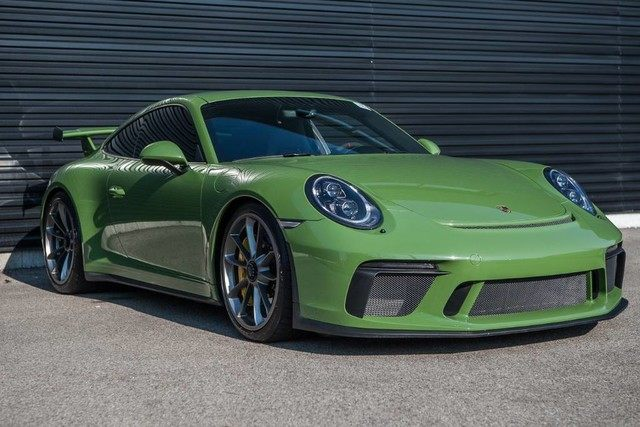 2018 Porsche 911 Gt3 In Highland Park Il Listed On 101618