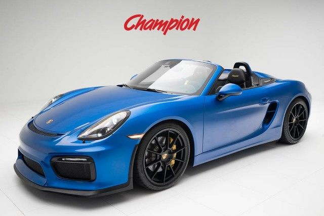 2016 Porsche Boxster Spyder In Pompano Beach Fl Listed On 1110