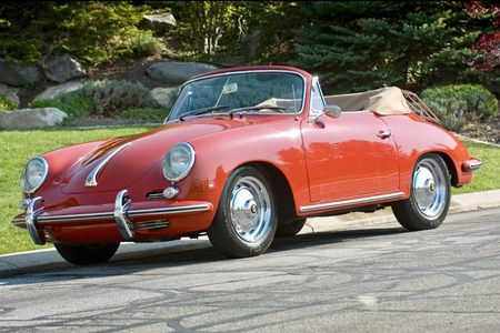 1963 356 B Cabriolet picture #1