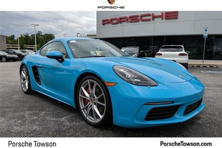 2017 718 Cayman S Coupe picture #1