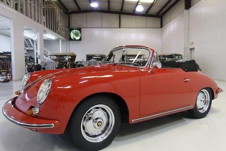 1963 356 B Carrera 2 GS Cabriolet by Reutter picture #1
