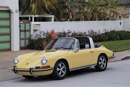 1968 911 Soft Window Targa picture #1