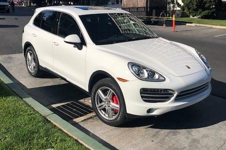 2014 Porsche Cayenne Platinum Ed. picture #1