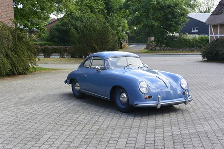 1955 Porsche 356 Prea Continental Coupe! picture #1