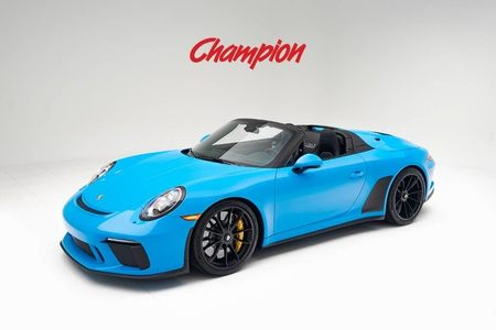 2019 Porsche 911 Speedster picture #1