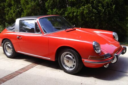 1968 912 Soft Window Targa picture #1