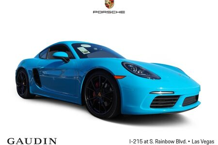 2017 718 Cayman S picture #1