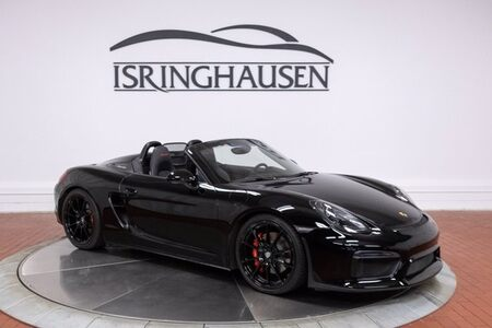 2016 Boxster Spyder picture #1
