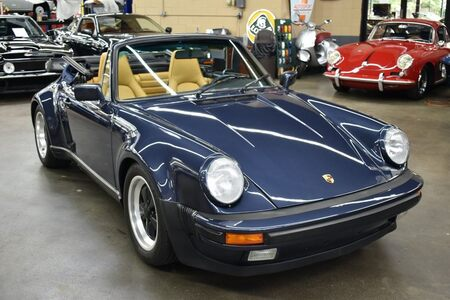 1987 911 Carrera 3.2 Turbo Look Cabriolet picture #1
