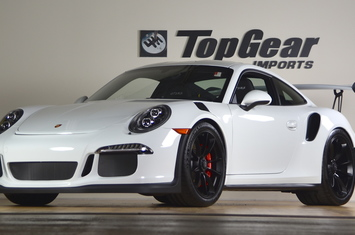2016 911 gt3 rs only 24 miles