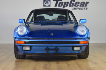 1988 porsche 930 turbo rare minerva blue original paint