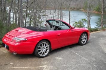 2000 911 carrera 2 cabriolet