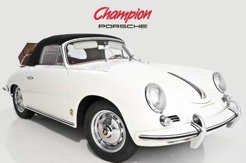1960 porsche 356 b 1600 s cabriolet by reutter