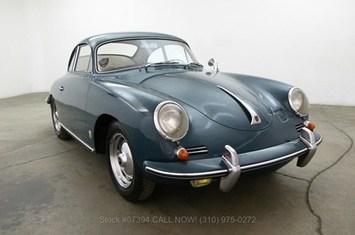 1961 porsche 356b 1600 coupe
