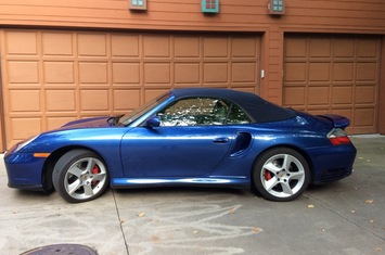 2004 996 turbo cabriolet