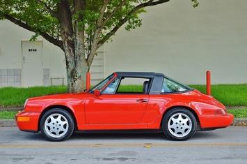 1990 porsche 911 targa c2 g50 964 low miles
