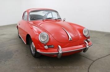 1964 porsche 356c 1600 coupe