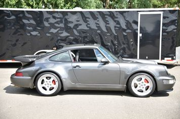 1994 porsche 3 6 turbo rare slate gray