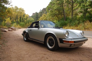 1985 911 carrera 3 2 cabriolet row