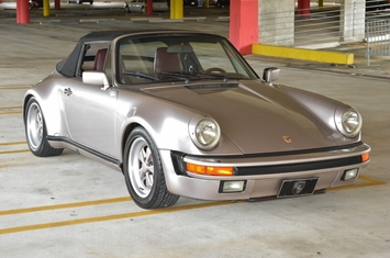 1985 porsche 911 turbo look m491 cabriolet widebody 930