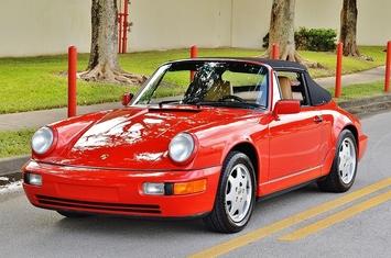 1990 porsche 911 carrera 964 cabriolet c2 g50