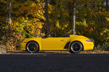2011 997 speedster