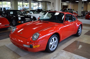 1995 911 carrera 4 993 coupe