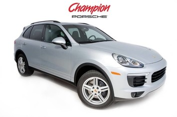 2016 porsche demo sale cayenne