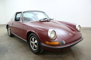 1969 porsche 911t targa