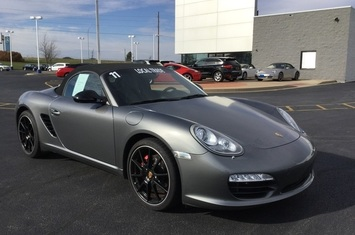 2011 boxster s