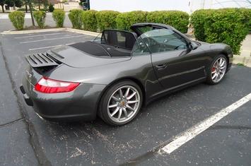 2008 997 c4s cabriolet