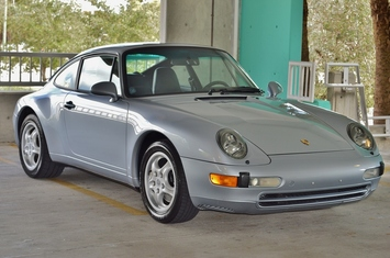 1995 porsche 911 6 speed coupe 993