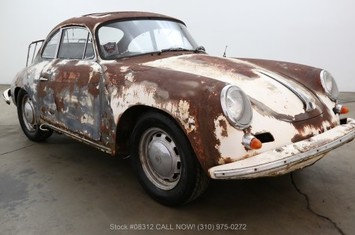 1965 porsche 356c sunroof coupe
