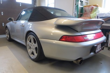 1997 911 turbo cabriolet conversion
