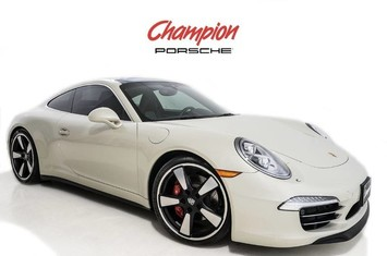 2014 porsche 911 50th anniversary edition