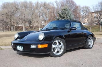1993 964 c4 cabriolet