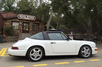 1991 porsche 964 carrera 2 targa 5 spd low miles
