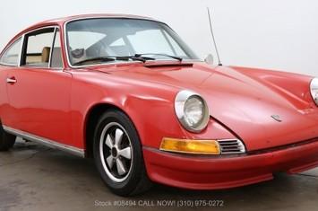 1969 911e karmann sunroof coupe