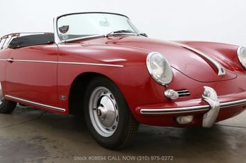 1962 356b t6 twin grille roadster 1