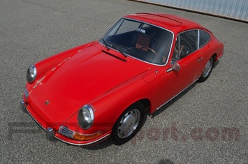 1965 porsche 911 sunroof coupe survivor