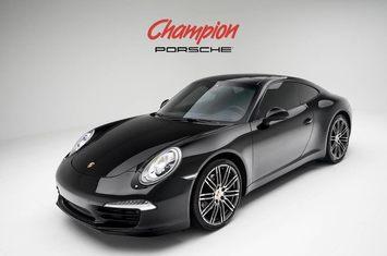 2016 porsche 911 carrera black edition 1