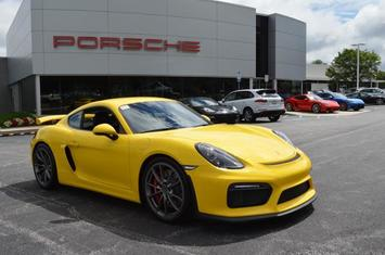 2016 cayman 2dr cpe gt4