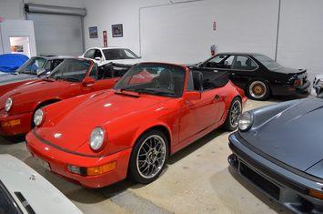 1991 porsche 911 carrera cabriolet 1
